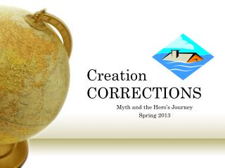 Creation CORRECTIONS