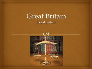 Great Britain  Legal System