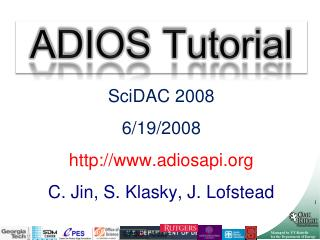 ADIOS Tutorial