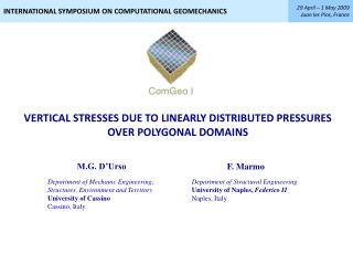 VERTICAL STRESSES DUE TO LINEARLY DISTRIBUTED PRESSURES OVER POLYGONAL DOMAINS