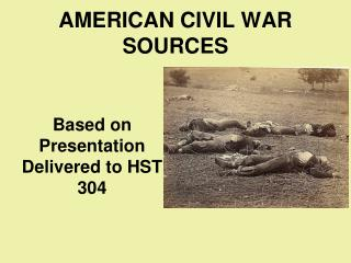 AMERICAN CIVIL WAR SOURCES