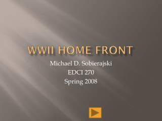 WWII Home Front