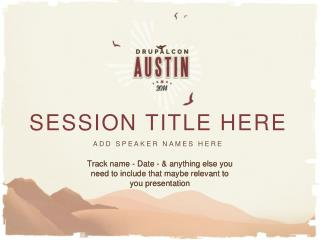 session title here