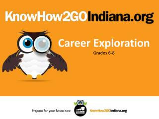 Career Exploration Grades 6-8