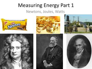 Measuring Energy Part 1