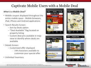 What is a Mobile Deal?
