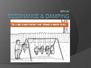Resonance & Damping