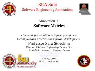 SEA Side Software Engineering Annotations