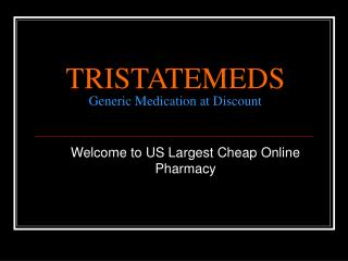 Drugs Online Pharmacy at your Doorsteps