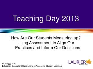 Teaching Day 2013