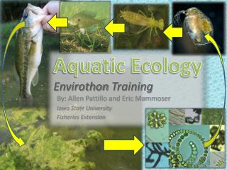 Aquatic Ecology Envirothon  Training
