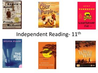 Independent Reading- 11 th