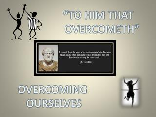 """TO HIM THAT    OVERCOMETH"""