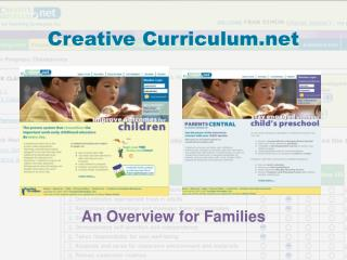 Creative Curriculum