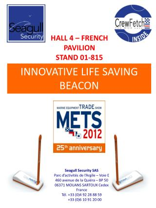 HALL 4 – FRENCH PAVILION STAND 01-815
