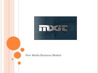 New Media Business Models