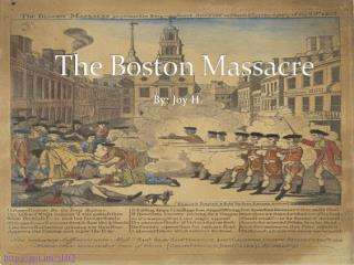 causes of the boston massacre