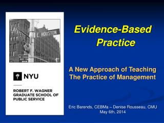 Evidence -Based Practice