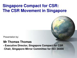 Singapore Compact for CSR: The CSR Movement in Singapore