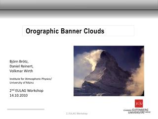 Orographic  Banner Clouds
