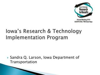 Iowa's Research & Technology Implementation Program