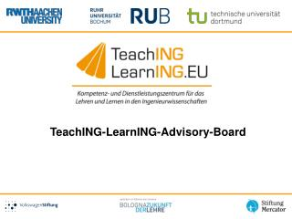 TeachING - LearnING -Advisory-Board