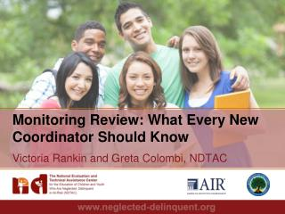 Monitoring  Review: What Every New Coordinator Should Know