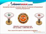 Basketball equipments by JumpUSA