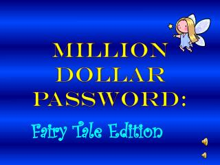 Million Dollar Password: