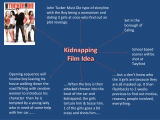 Kidnapping  Film Idea