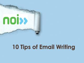 10 Tips of Email Writing