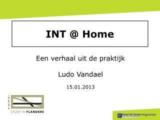 INT @ Home