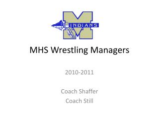 MHS Wrestling Managers