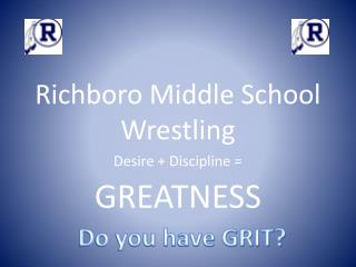 Richboro Middle School Wrestling