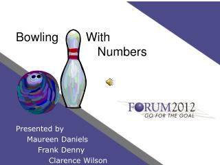 Bowling        With     Numbers