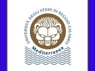 The Università degli Studi Mediterranea di Reggio Calabria is set in a position of outstanding natural beauty.