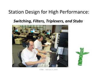 Station Design for High Performance: