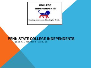 Penn State College Independents