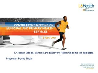 CONSULTATIVE MEETING ON MUNICIPAL AND PRIMARY HEALTH SERVICES