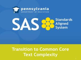 Transition to Common Core Text Complexity
