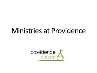 Ministries at Providence