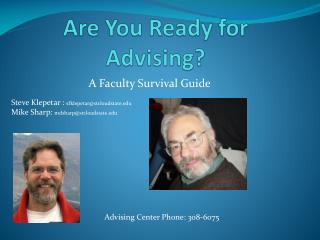 Are You Ready for Advising?