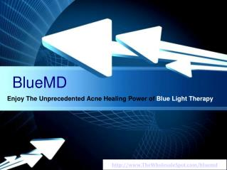 Cure Acne With the BlueMD Blue Light Therapy Device