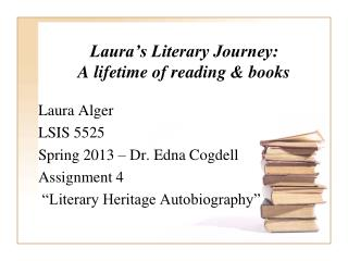 Laura's Literary Journey: A lifetime of reading & books