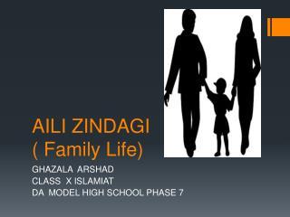 AILI ZINDAGI  ( Family Life)
