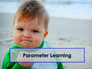 Parameter Learning