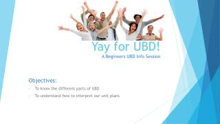 Yay for UBD! A Beginners UBD Info Session