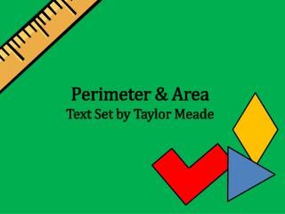 Perimeter & Area Text Set by Taylor Meade