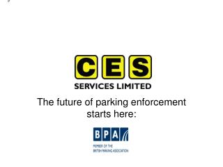 The future of parking enforcement starts here: