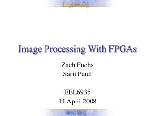 Image Processing With FPGAs